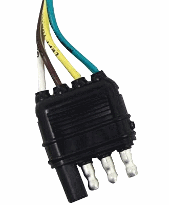 Trailer Wires 4-Pin Connector