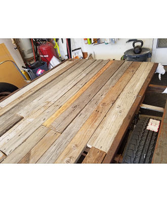 Recycle Wood In Place
