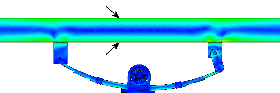 Analysis of Trailer Frame Material in Main Beam