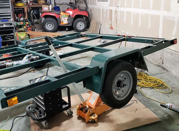 Nearly Done With The Trailer Rebuild