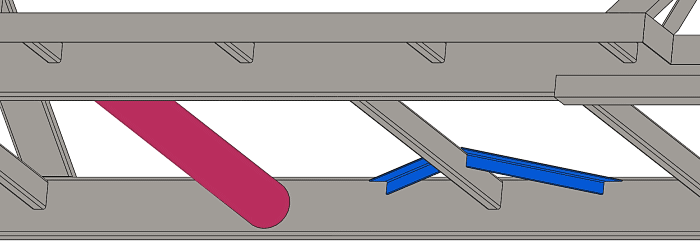 Trailer Frame with a Round Torque Tube