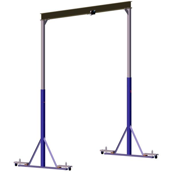 Heavy Duty Gantry Crane Plans