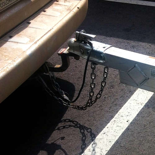 Trailer Hitch Chains That Are Too Long
