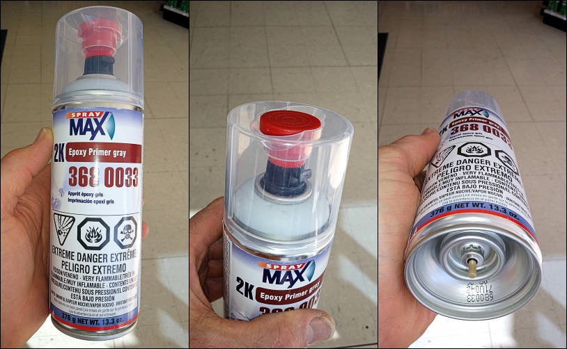 Spray Max One Can Solution