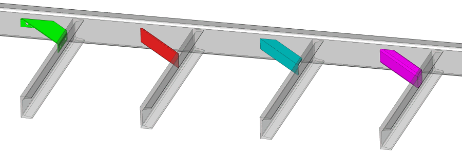 Gussets To Strengthen A Trailer Frame