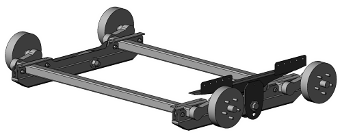 Overall 'Axle Truck' CAD Models
