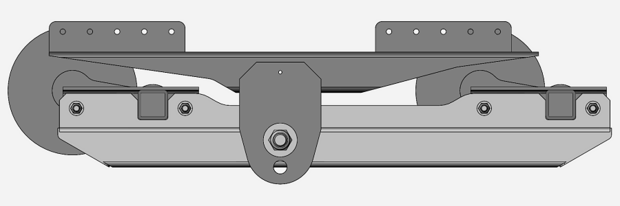 New Tandem Torsion Axle Design