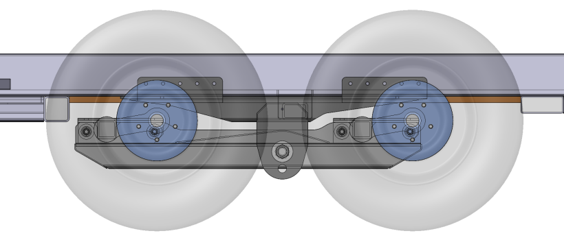 Transparent View of the New Tandem Axle Design