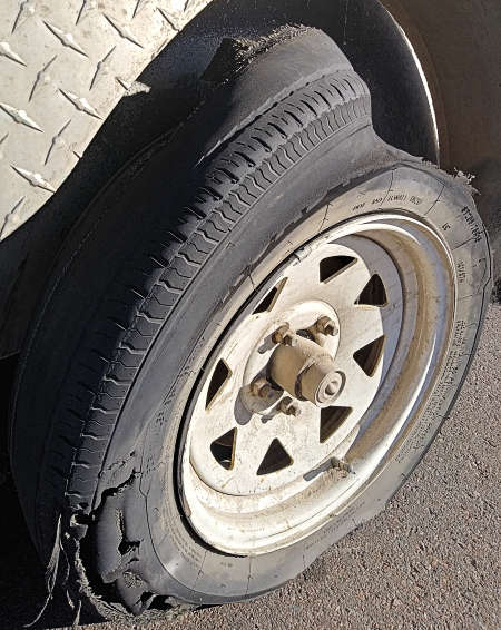 Replace Worn Trailer Tires