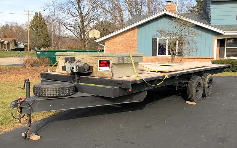Listing Of Used Trailer For Sale