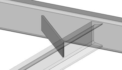 Flat Stock Vertical Frame Gusset