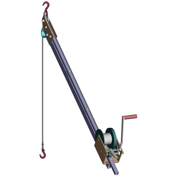 Hoist Winch Pole Plans