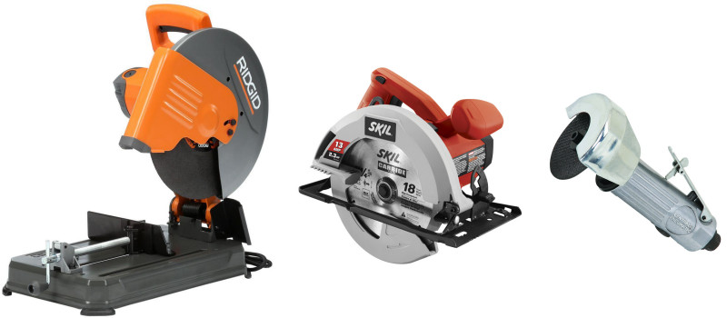 Abrasive Steel Cutting Saws