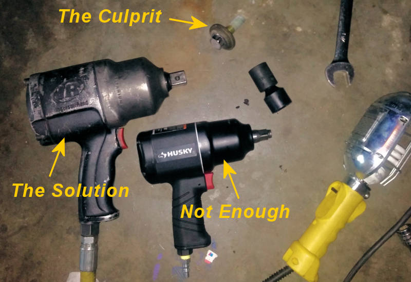 Impact Wrench Comparison