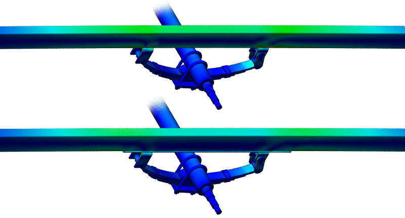 Beam Stress Comparison