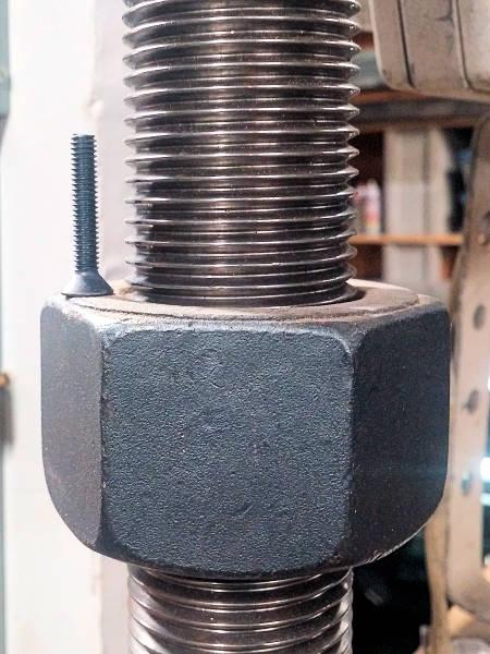 Select bolt size