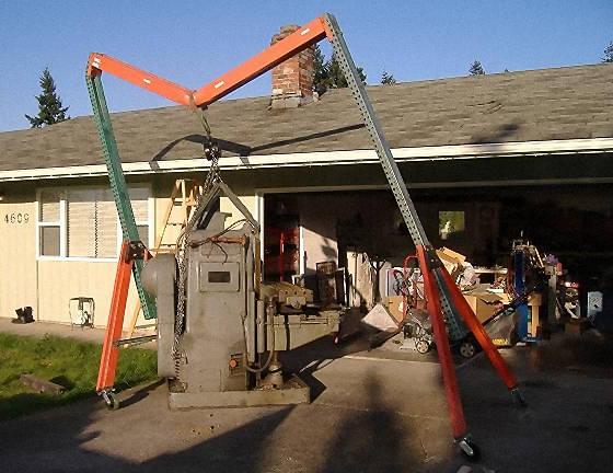 gantry crane failure