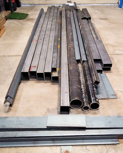 Steel Parts Cut to Length