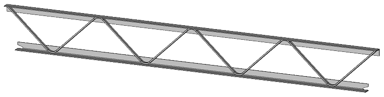 Fabricated Beam Construction Example