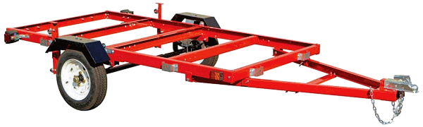 Bolt Together Folding Trailer