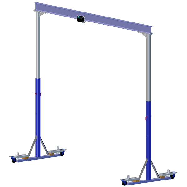 Just The Right Size Garage Crane