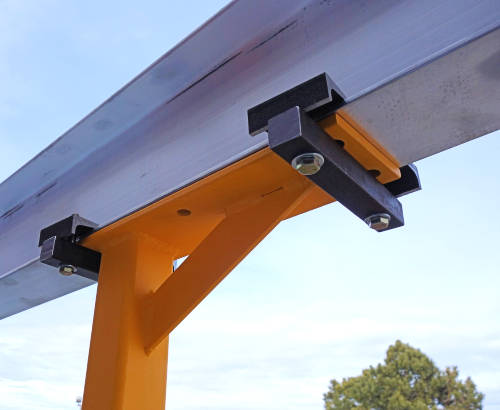 Gantry Crane I-Beam Clamp