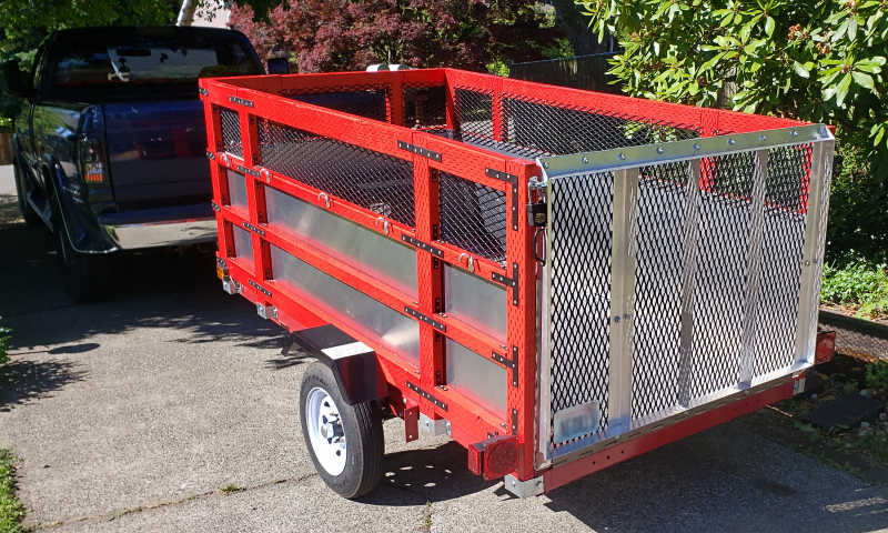 Started as a Harbor Freight Trailer