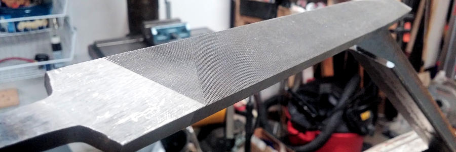 Metal Working Files In Action