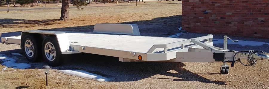 Example aluminum trailers