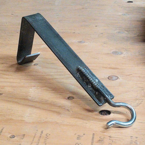 Quick I-Beam Hanger with a Hook