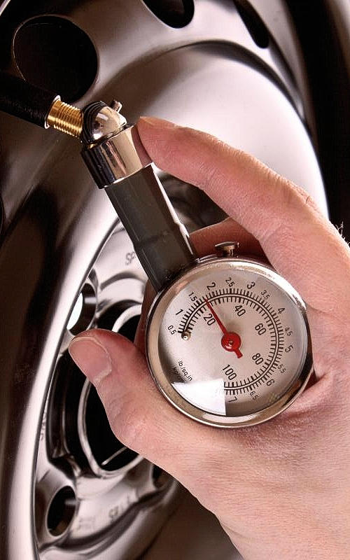 Reduce Tire Pressure To Reduce Tire Bounce
