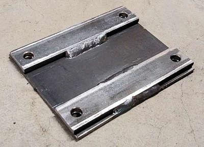 Welding Revised Plate For Strength