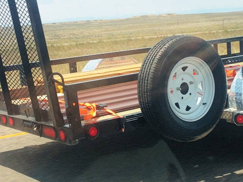 Side Mount Spare Tire