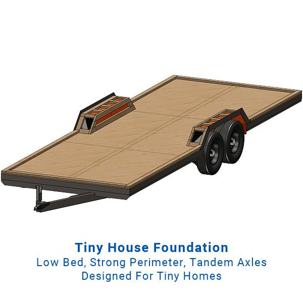 24' Tiny Home Trailer Plans