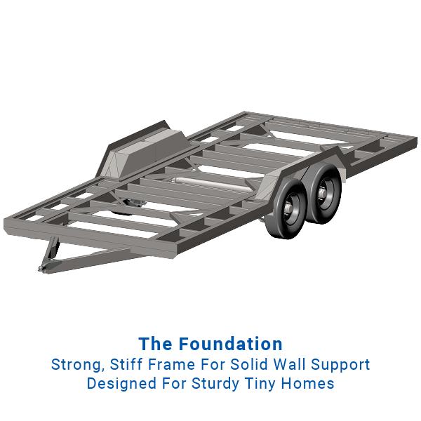 20ft Tiny House Foundation