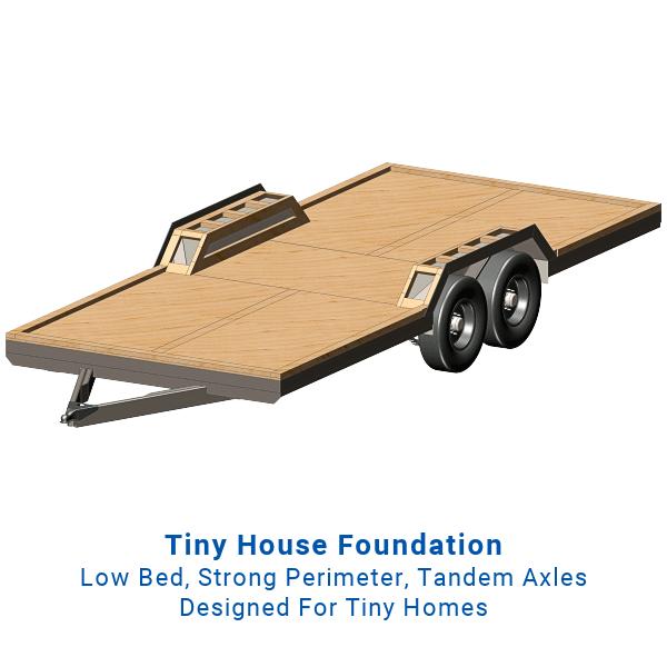 20ft Tiny House Trailer