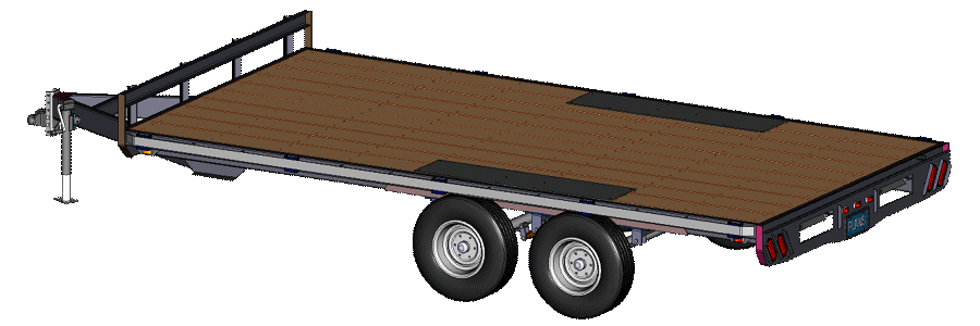 New Deck-Over Trailers Plans