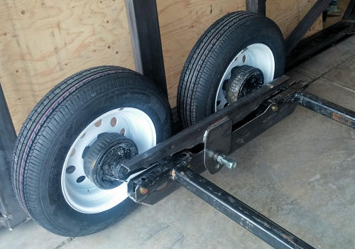 First Build Of The New Axle Truck Prototype