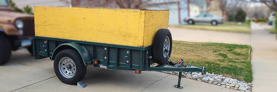 Trailer Instead of a Truck