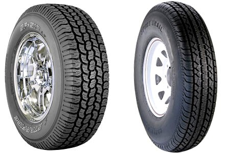 Trailer Tires vs. Automotive Tires