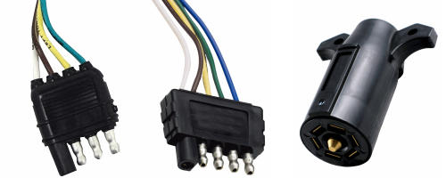 Connectors for Trailer Lights and Wires