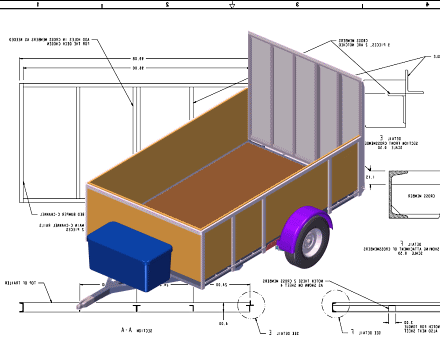 Trailer Blueprints - Customize the Plans