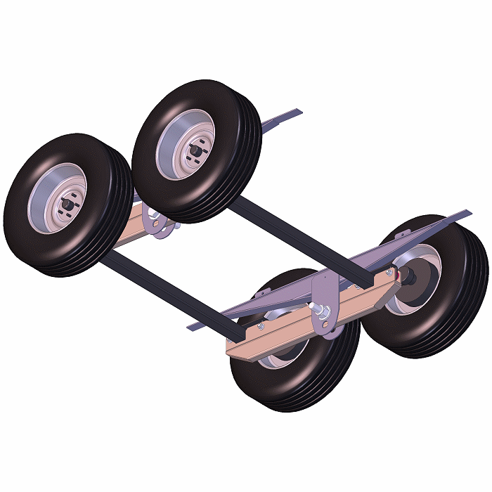 Walking Beam Suspension Plans W   Torsion Axles  U2013 For 5k To