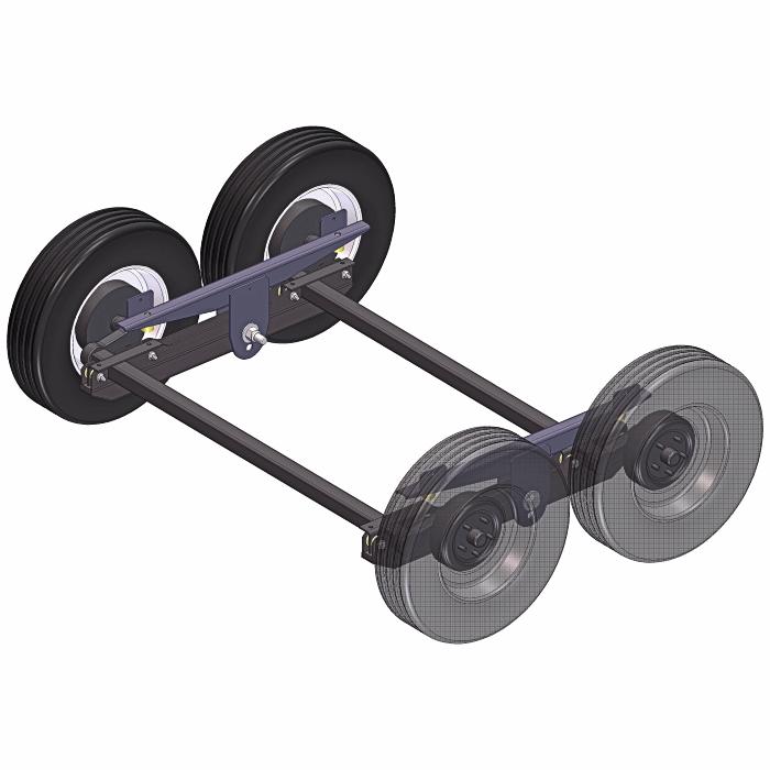 Walking Beam Suspension Plans - 4K w/ Torsion Axles