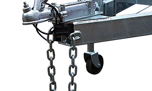 Attach Safety Chains By Welding