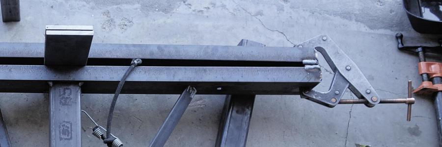 Welding Pre-Stressed Steel Fabrication