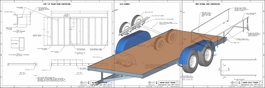 Trailer Plans Download at Mechanical Elements