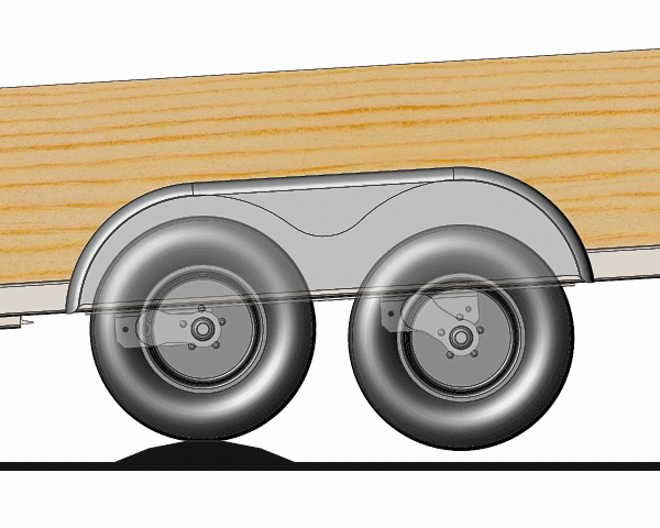 Effect with Torsion Axles in Tandem